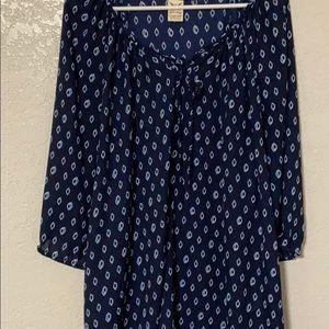 Blue lightweight blouse. Size 2X